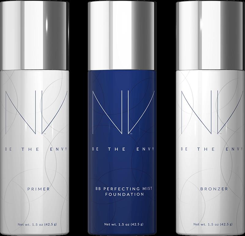 NV, New, Jeunesse, Spray on Foundation