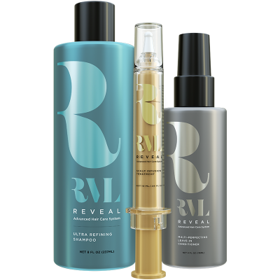 RVL Hair Care by Jeunesse, Thicker, Fuller, Longer Hair