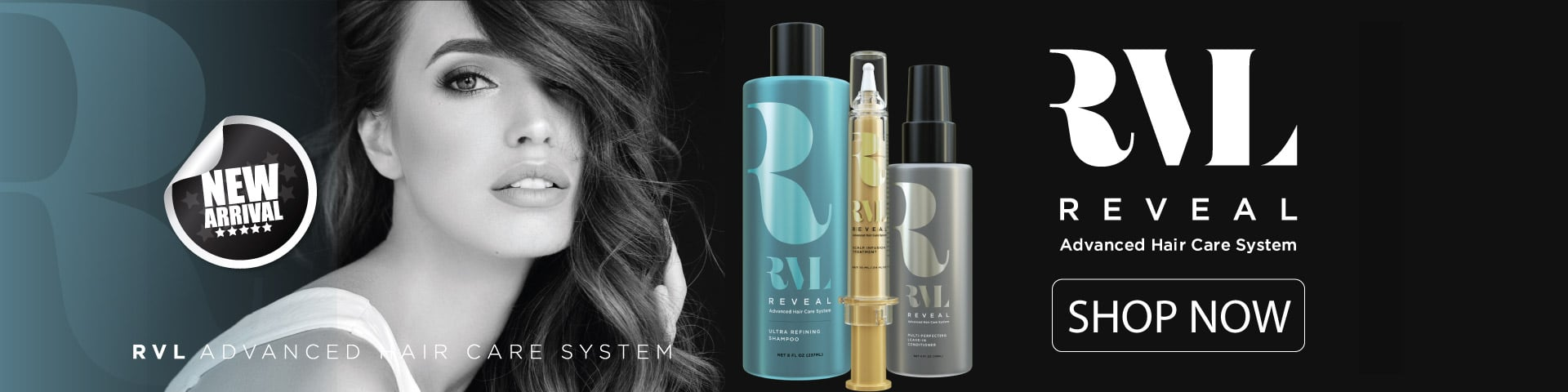 RVL by Jeunesse, Anti Aging Hair Care, Hair Growth formula, stem cell hair growth