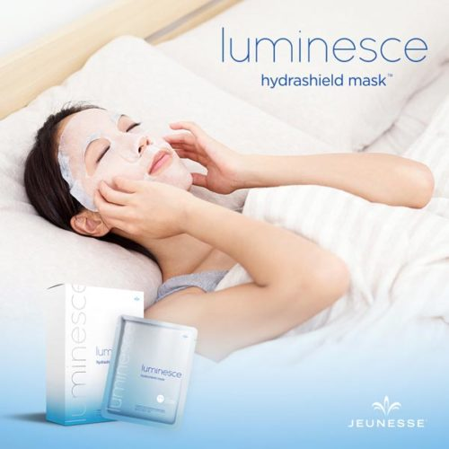 Luminesce Hydrashield Mask, Jeunesse Hydrashield, Anti Aging Skin Mask